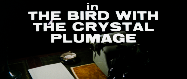 The Bird with the Crystal Plumage 4K title