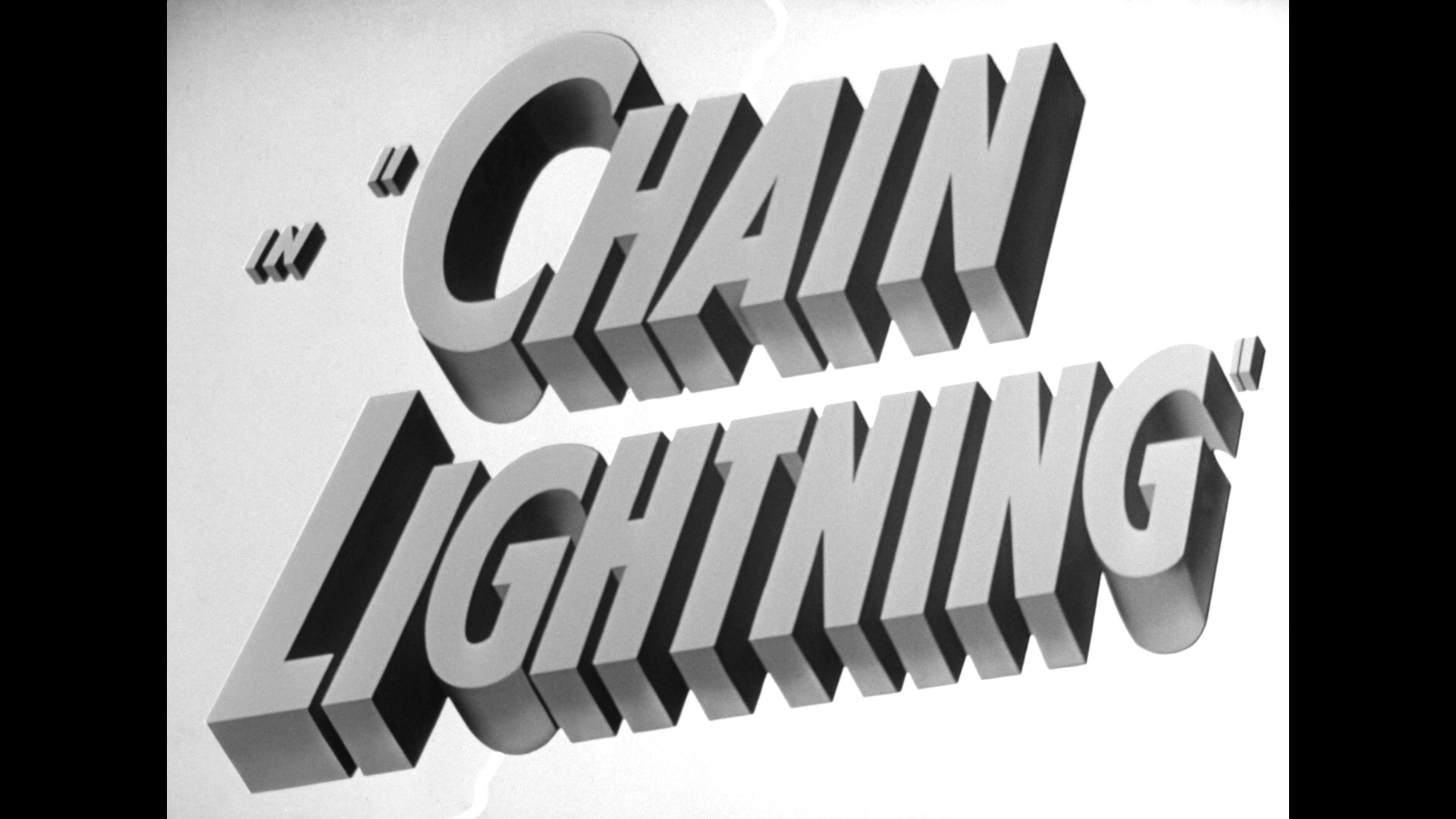 chain lightning warner archive title