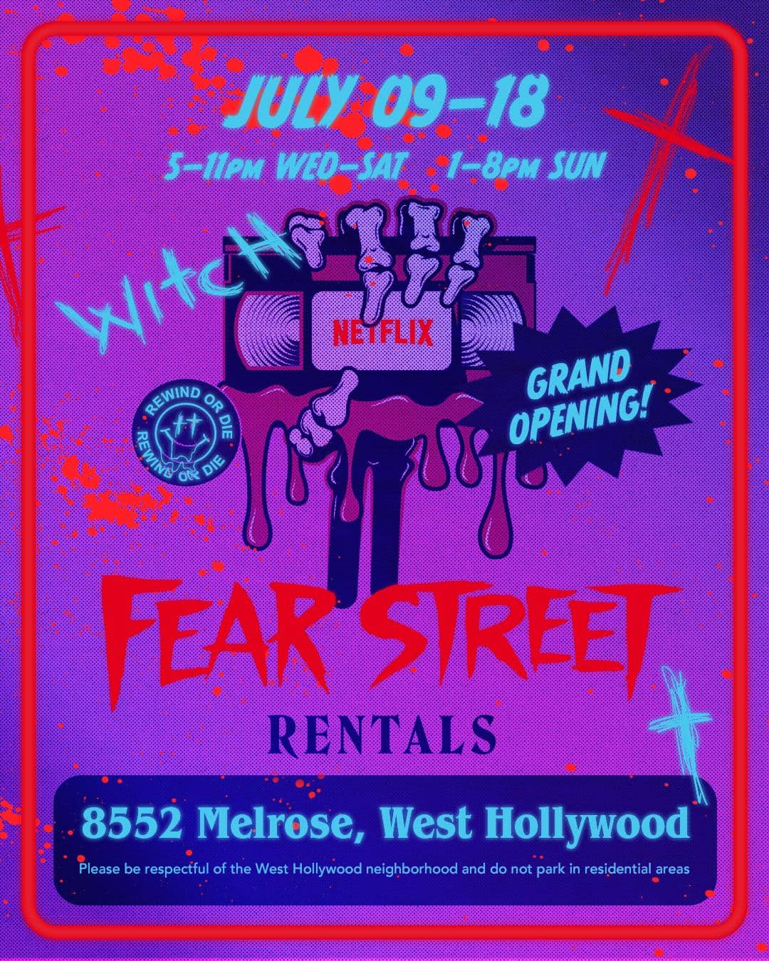 Troy talks Fear Street, She Ball, Flux Gourmet and Ultraman Day 2