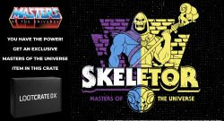 Exclusive Skeletor Cake Topper Figure in the new Loot Crate DX! 5