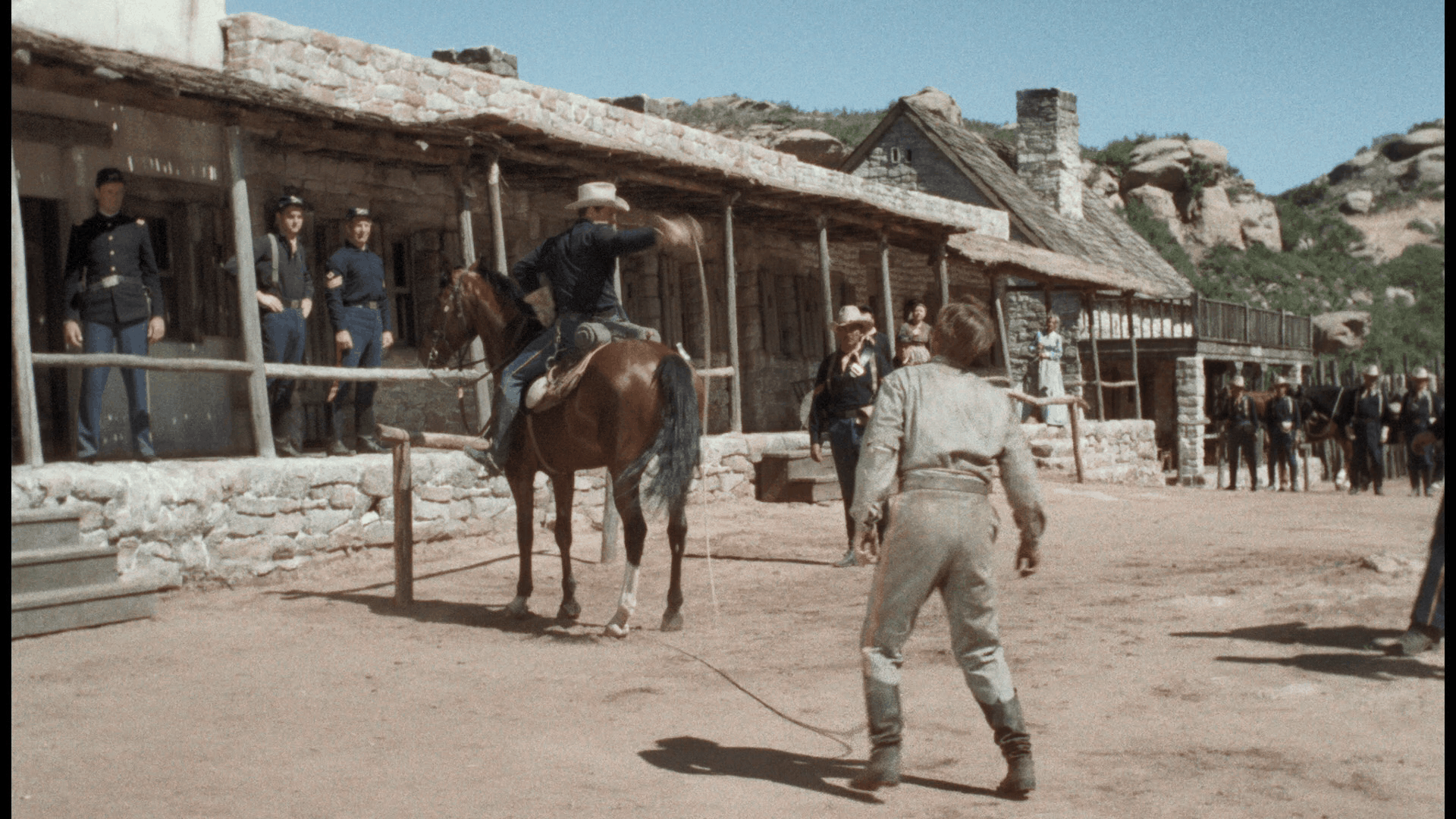 Escape from Fort Bravo (1953) [Warner Archive Blu-ray review] 2