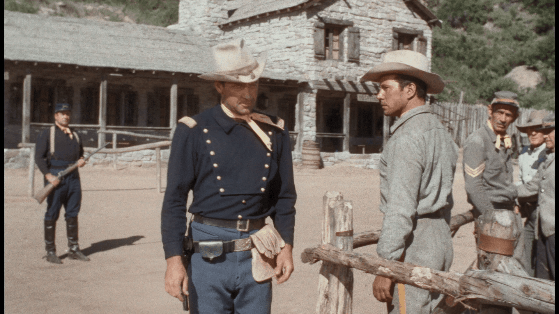 Escape from Fort Bravo (1953) [Warner Archive Blu-ray review] 4