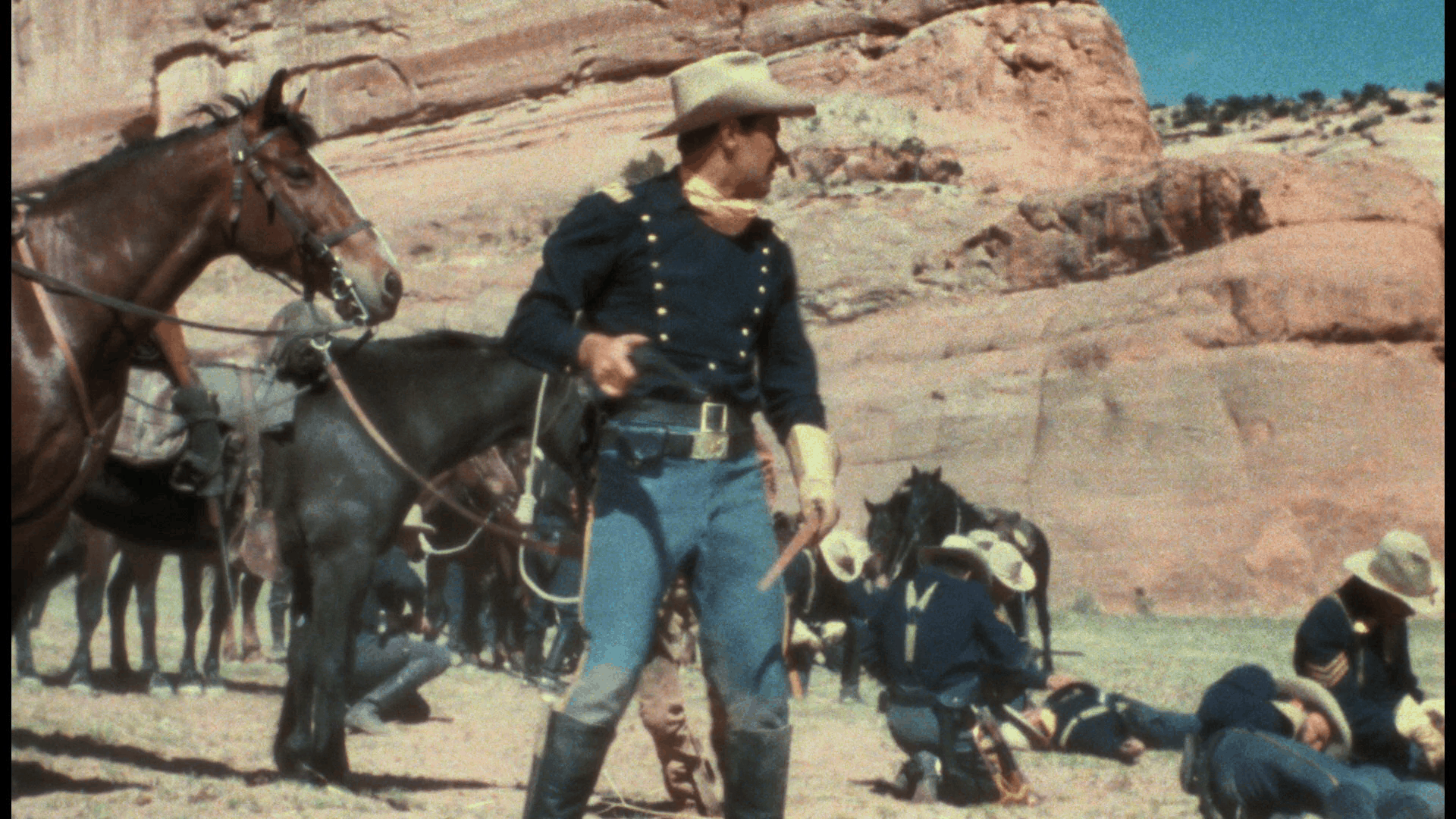 Escape from Fort Bravo (1953) [Warner Archive Blu-ray review] 6