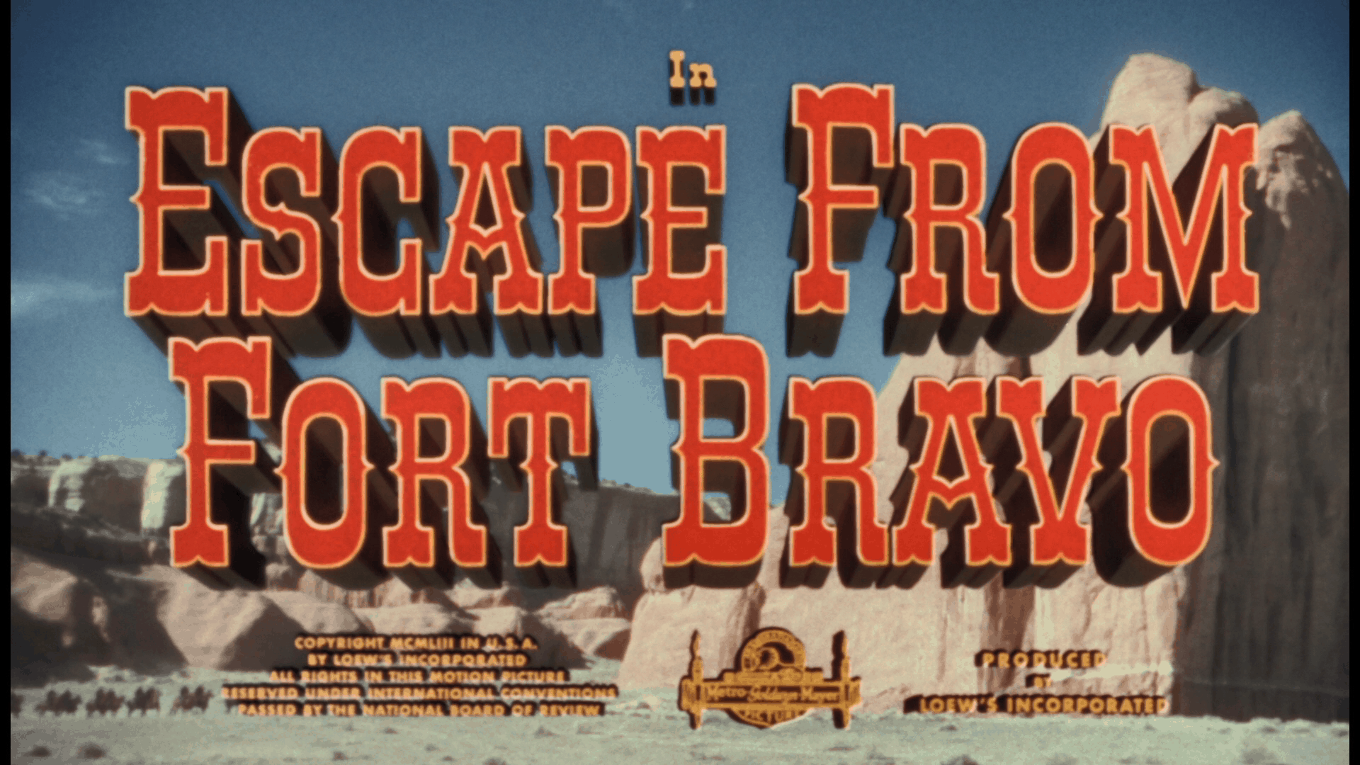 escape from fort bravo title