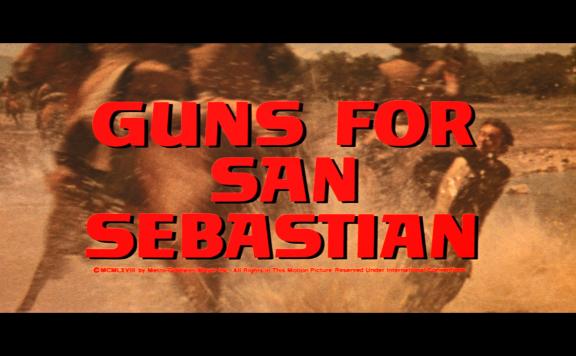 guns for san sebastian title