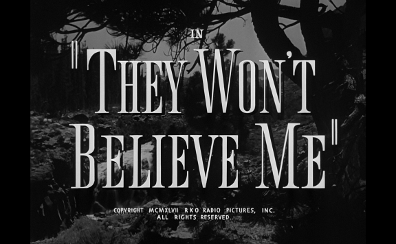 they wont believe me title warner archive