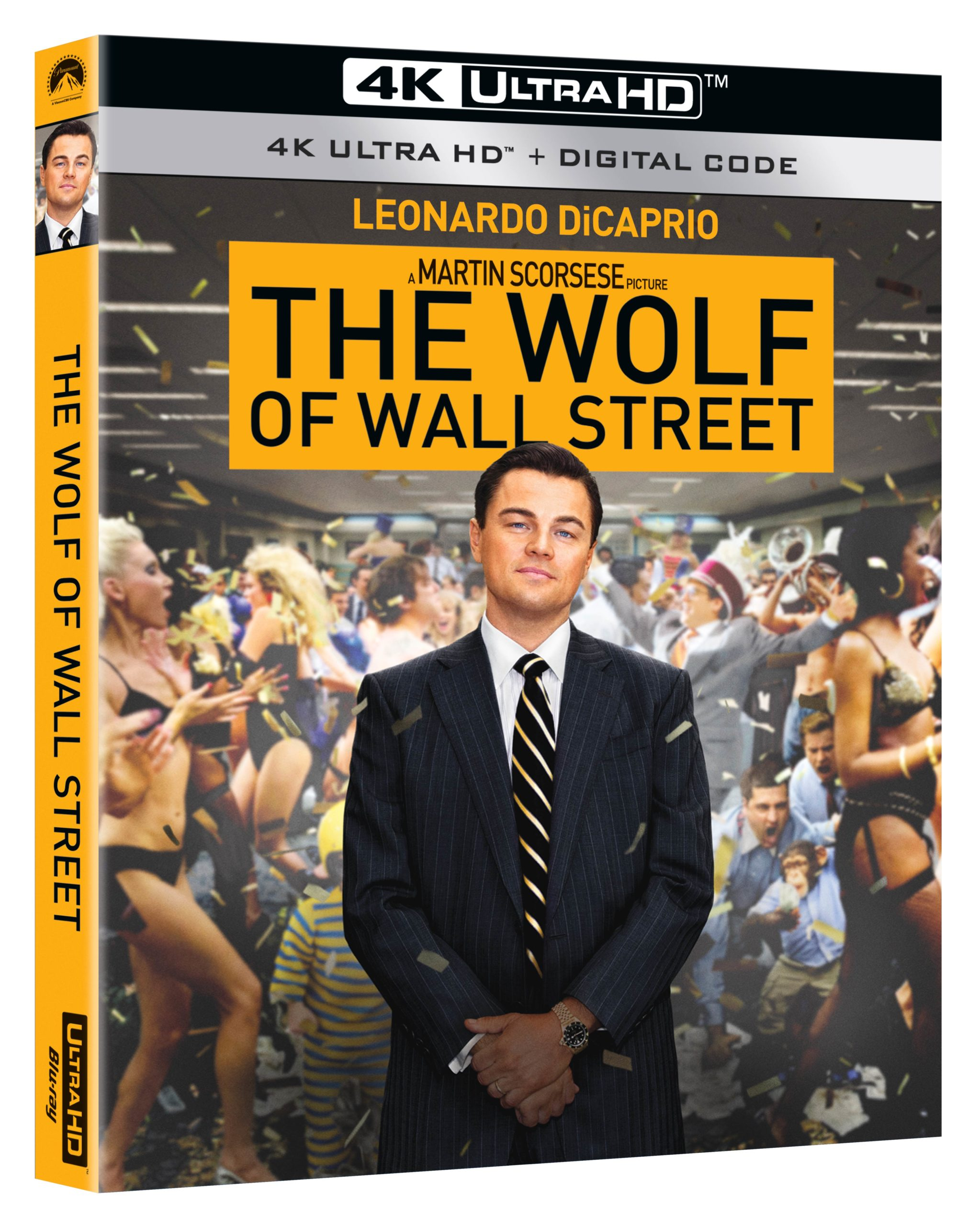 Wolf of Wall Street 4K