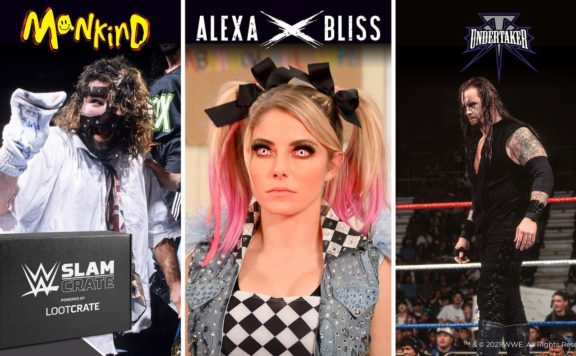 ALEXA BLISS WWE LOOT CRATE HEADER
