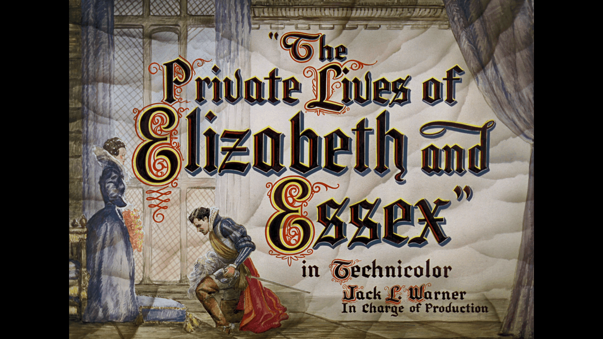 private lives of elizabeth and essex title