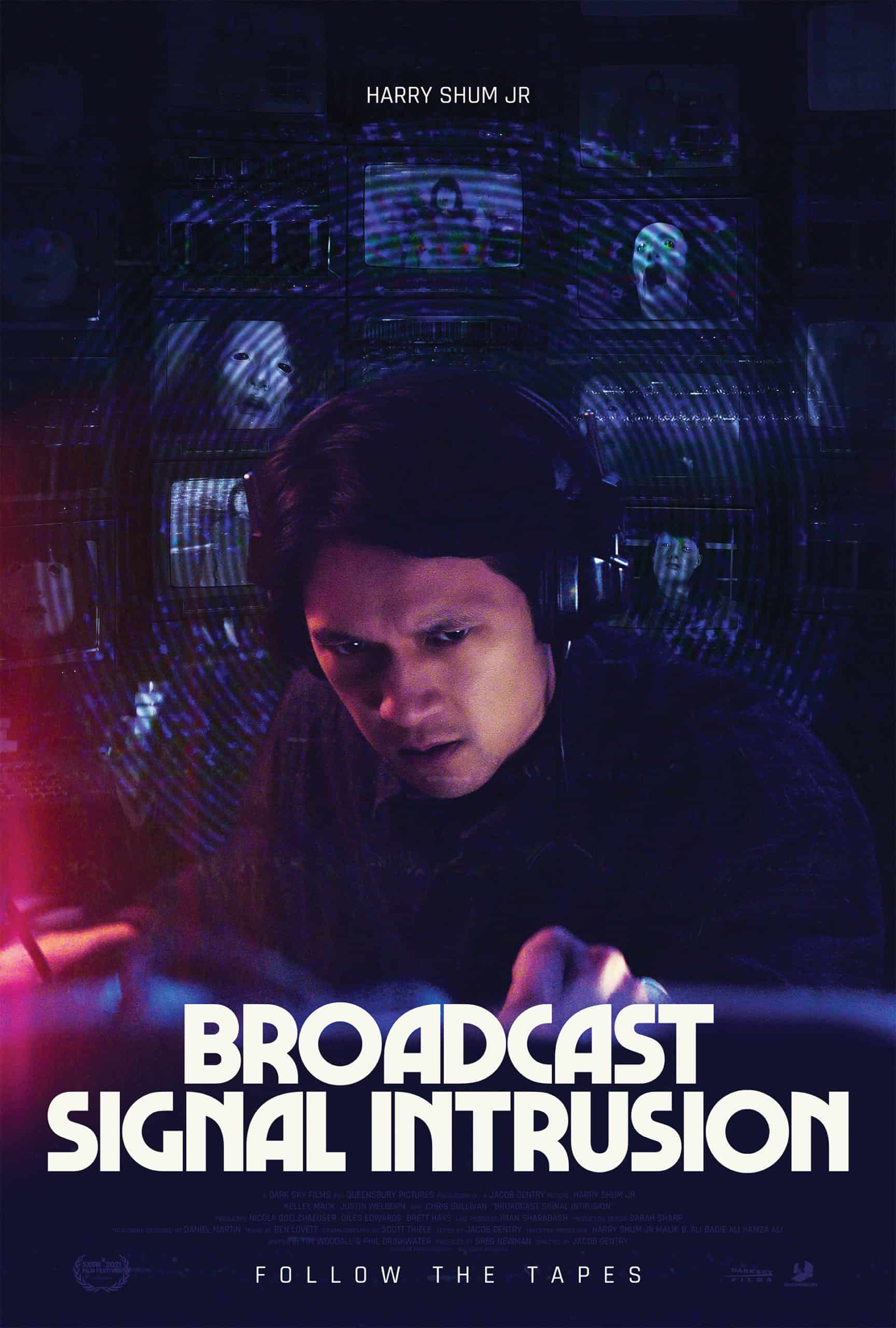 broadcast signal intrusion arrow poster