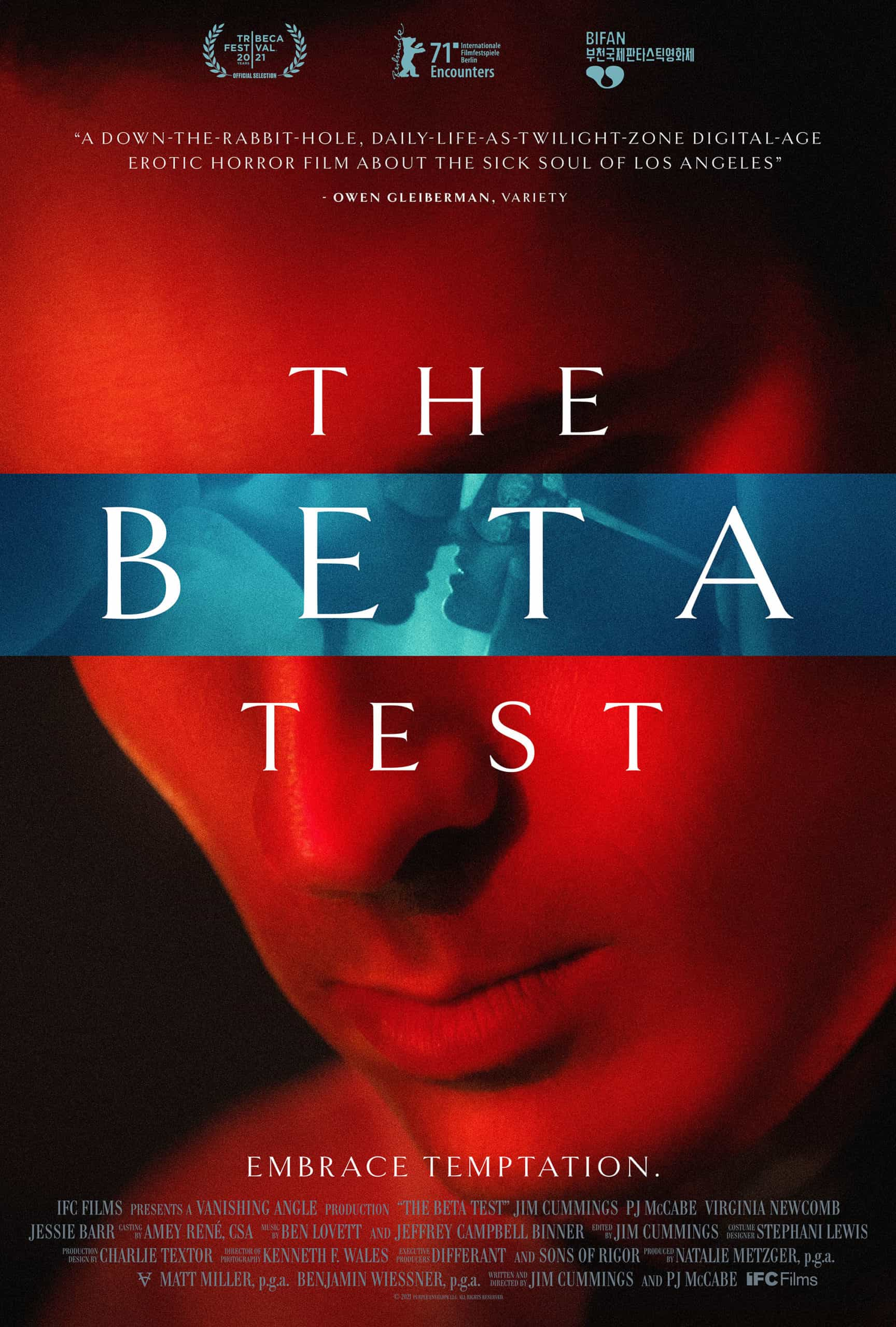 the beta test movie poster jim cummings