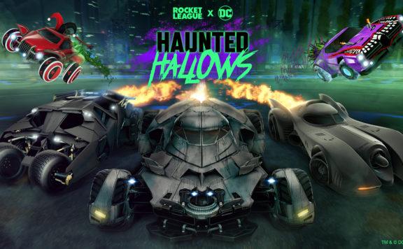 batman returns haunted hallows rocket league